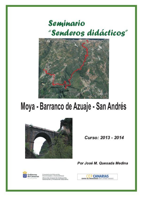 I Edición Senderos Didácticos; Moya - Azuaje - San Andrés Moya - San Andrés valido(1)