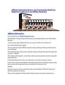 Affiliate Safecracker review and MEGA $38,000 Bonus - 80% Discount Affiliate Safecracker Review and $30000 Bonus - Affiliate Safecracker 80% DISCOUNT