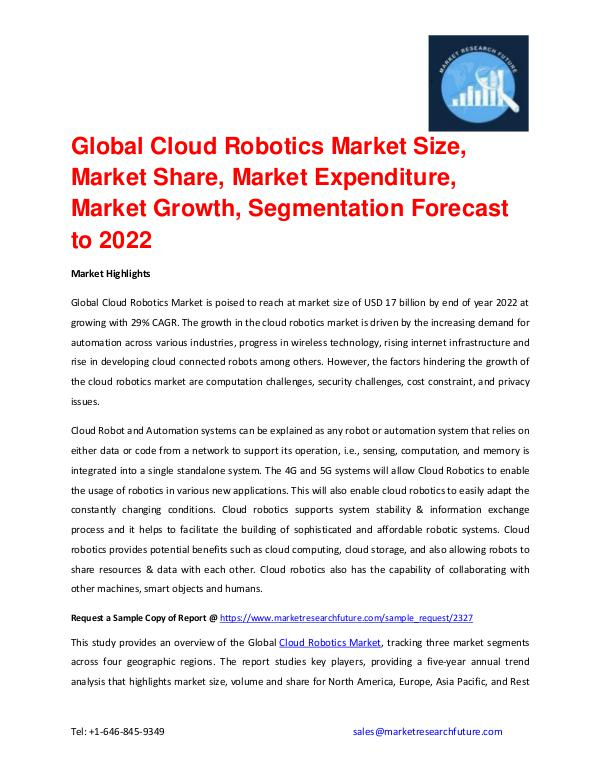 Shrink Sleeve Labels Market 2016 market Share, Regional Analysis and Global Cloud Robotics Market Industry