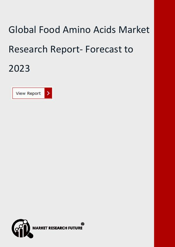 Market Research Future (Food and Beverages) Global Food Amino Acids Market Research Report
