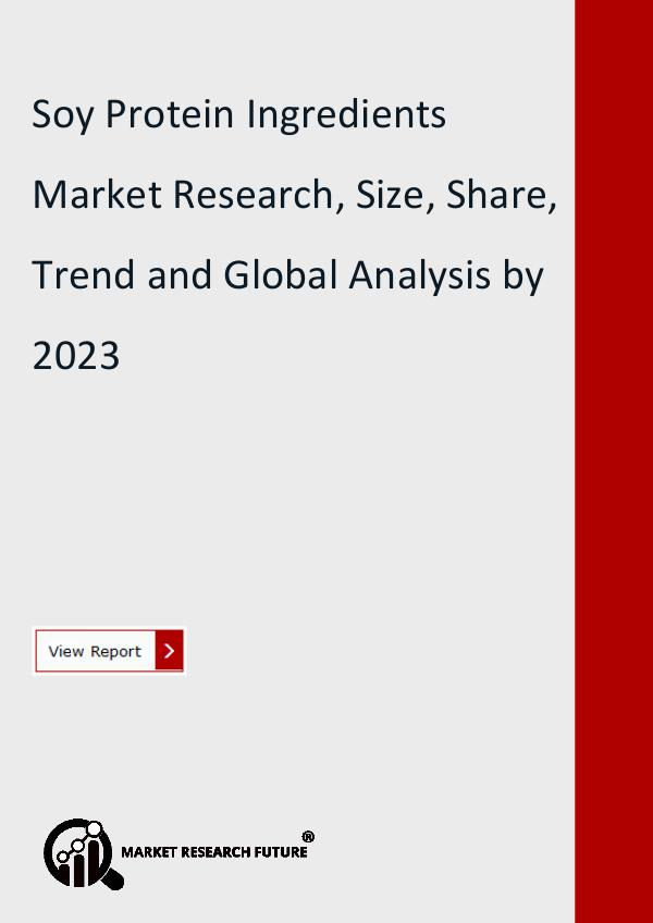 Market Research Future (Food and Beverages) Soy Protein Ingredients Market