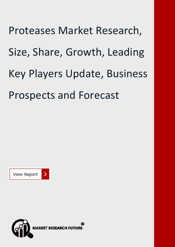 Market Research Future (Food and Beverages) Proteases Market Research Report