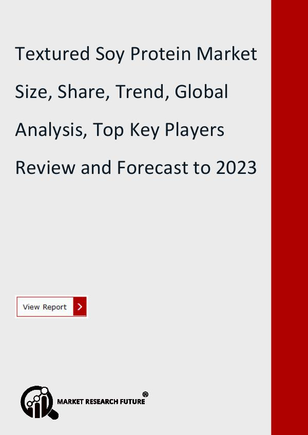 Market Research Future (Food and Beverages) Textured Soy Protein Market Research Report