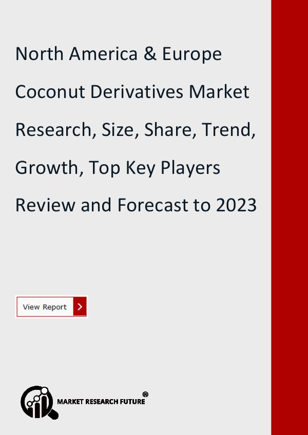 Market Research Future (Food and Beverages) North America & Europe Coconut Derivatives Market