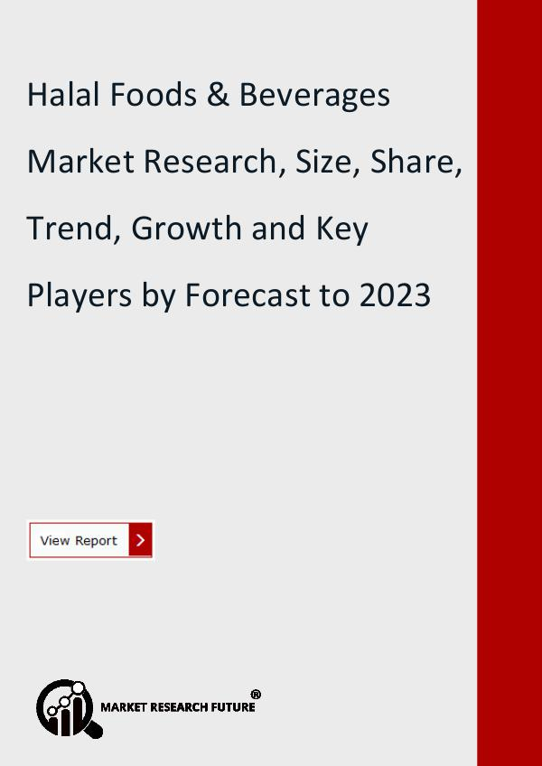 Market Research Future (Food and Beverages) Halal Foods & Beverages Market Research Report