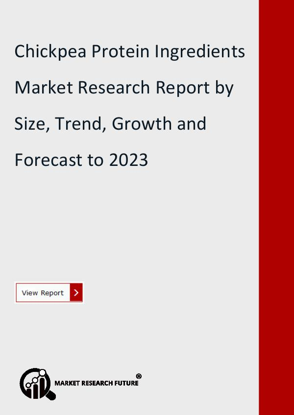 Market Research Future (Food and Beverages) Chickpea Protein Ingredients Market Research