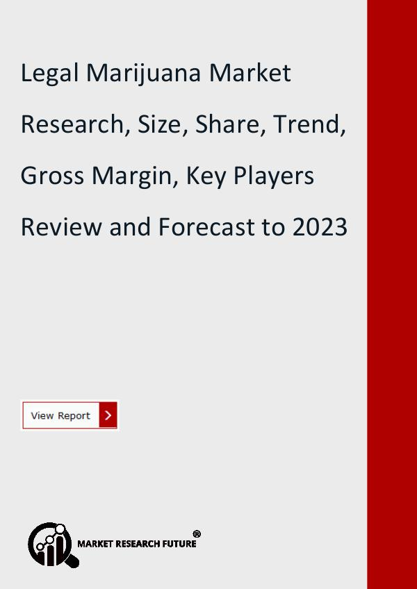 Market Research Future (Food and Beverages) Legal Marijuana Market Research Report