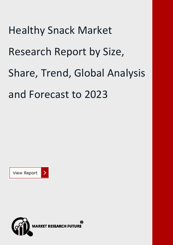 Market Research Future (Food and Beverages) Healthy Snack Market Research