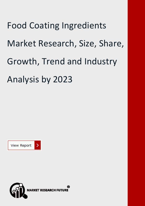 Food Coating Ingredients Market Research Report