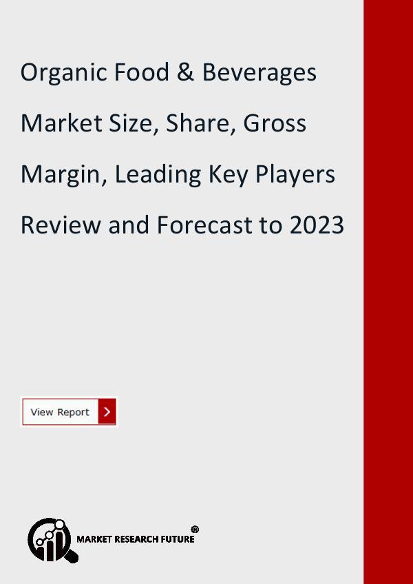 Organic Food & Beverages Market Forecast to 2023
