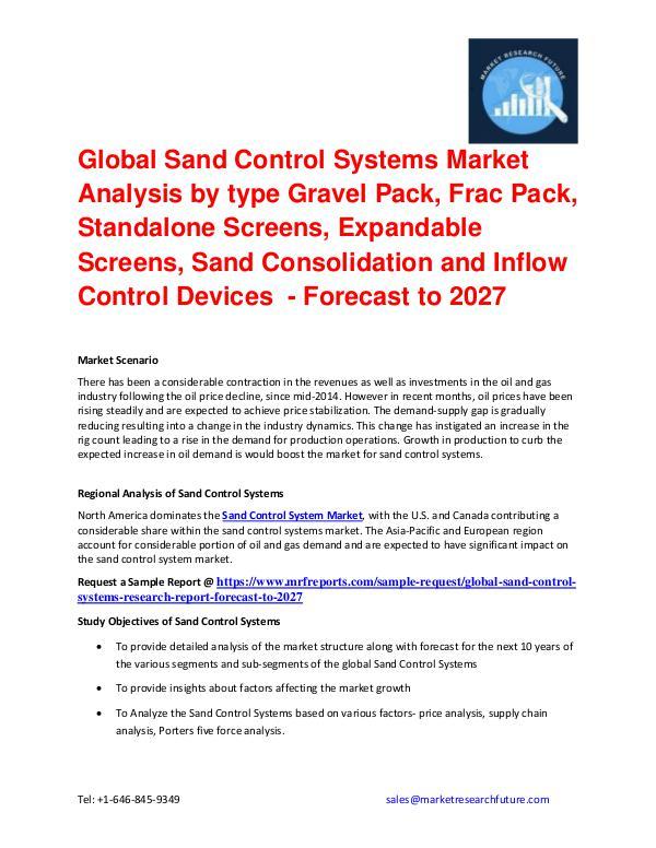 Shrink Sleeve Labels Market 2016 market Share, Regional Analysis and Global Sand Control Systems Market Development