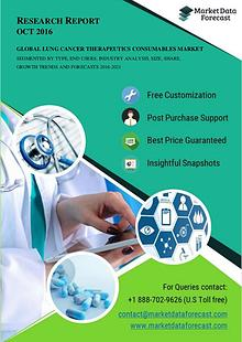 Qualitative Research on Global Lung Cancer Therapeutics Industry 2021