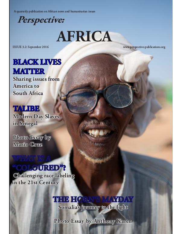Perspective: Africa (Sep 2016) Perspective: Africa (Sep 2016)