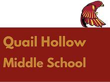 Quail Hollow Middle School Brochure 2016-2017