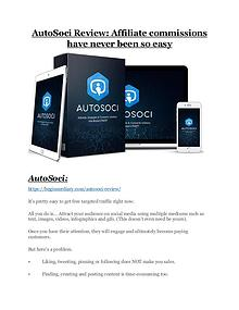 AutoSoci review and $26,900 bonus - AWESOME!