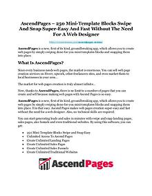 AscendPages Review-AMAZING $32,000 Bonus & Discount
