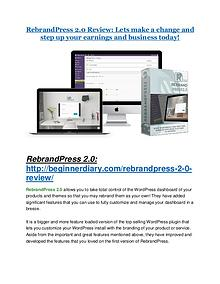 RebrandPress 2.0 review- RebrandPress 2.0 $27,300 bonus & discount