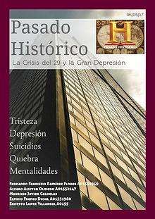 La crisis de 1929 y la gran depresión.
