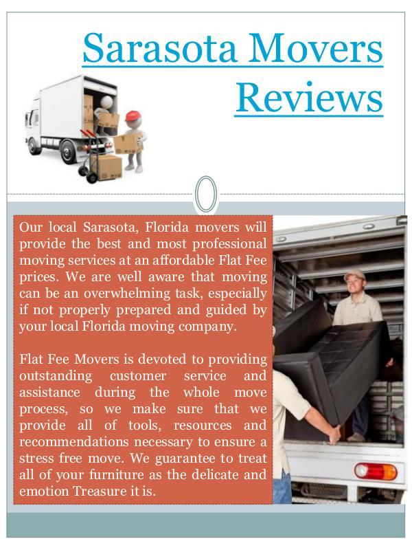 Moving To Sarasota FL Moving To Sarasota FL