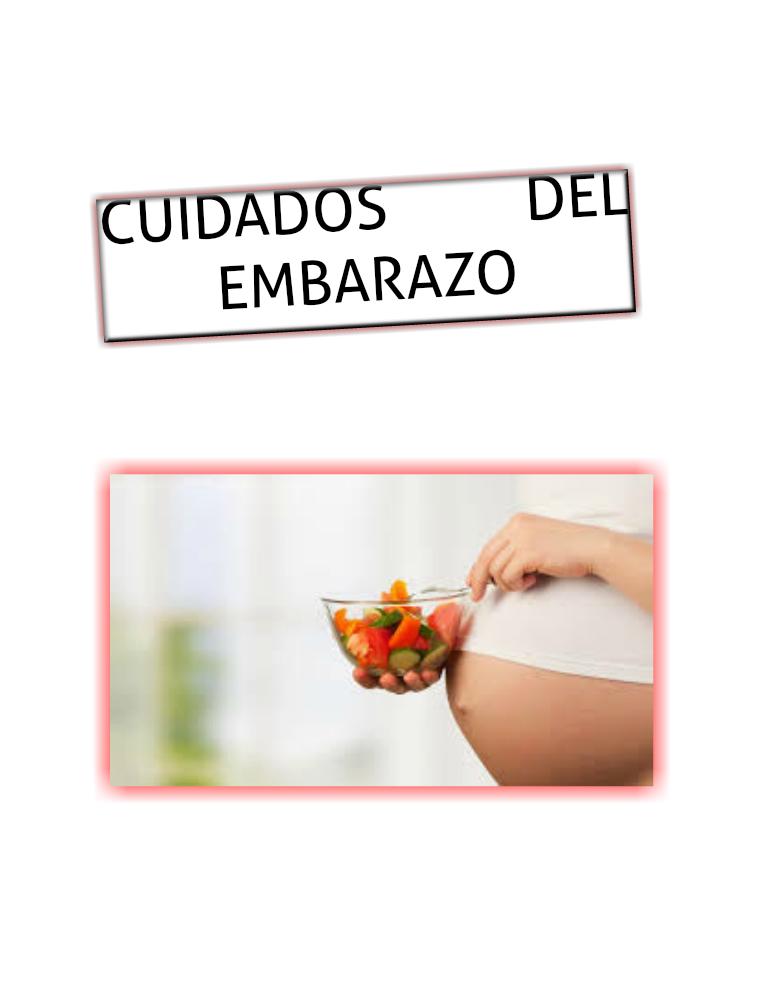 CUIDADOS DEL EMBARAZO PRIMER VOLUMEN