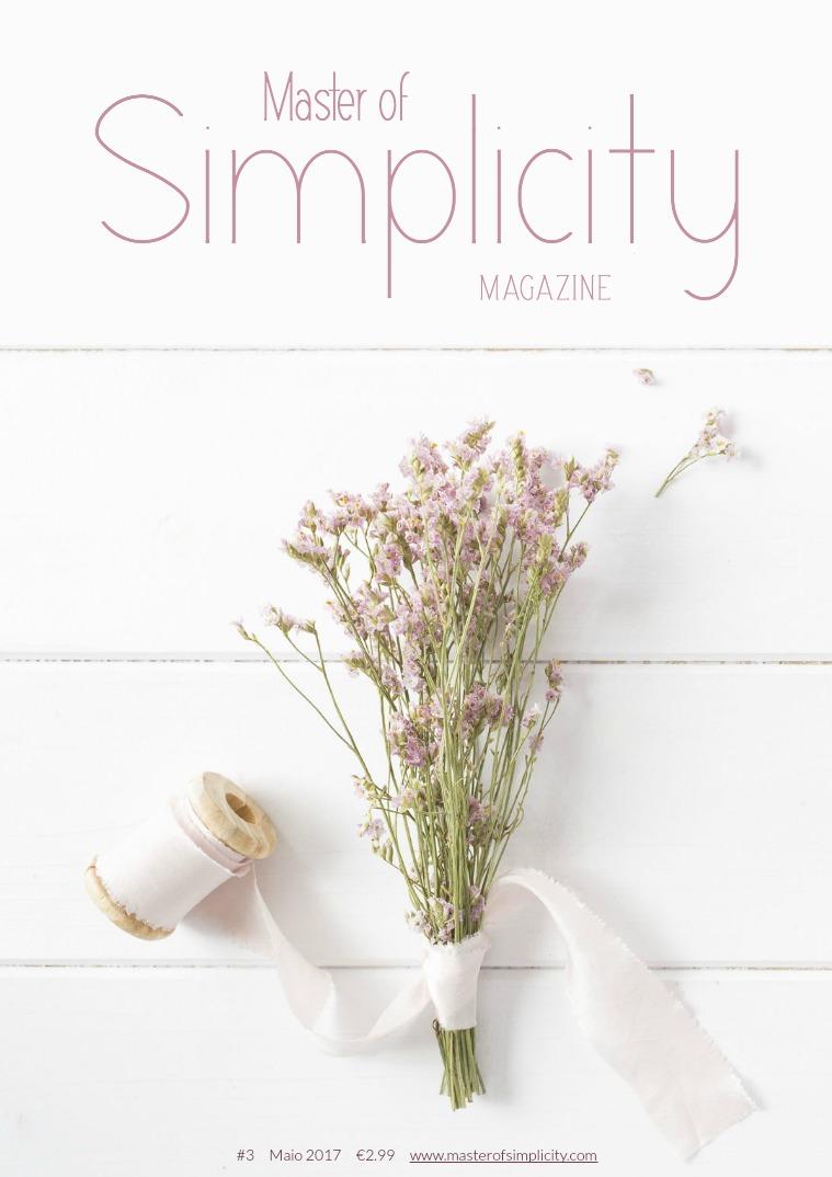 Master of Simplicity Magazine #3 Maio/Junho 2017