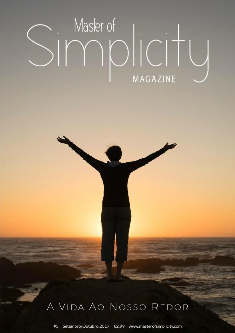 Master of Simplicity Magazine #5 Setembro/Outubro 2017
