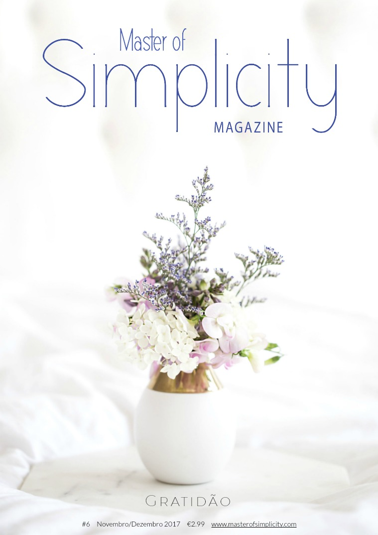 Master of Simplicity Magazine #6 Novembro/Dezembro 2017
