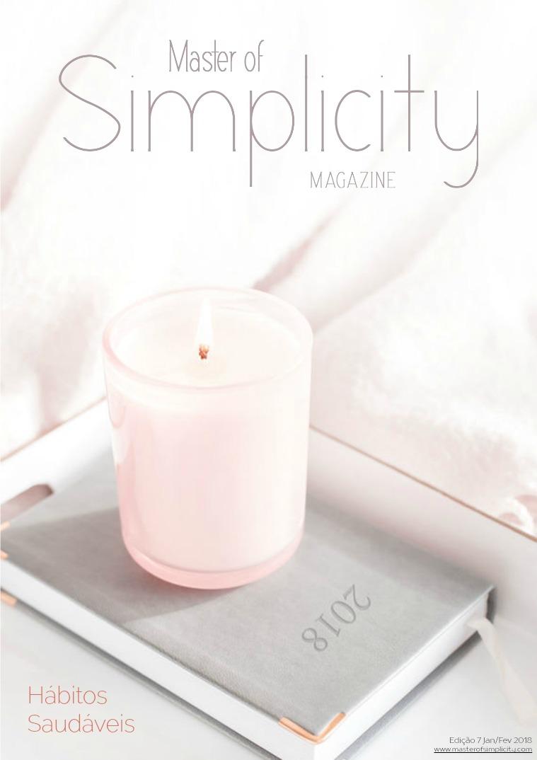 Master of Simplicity Magazine #7 Janeiro/Fevereiro 2018