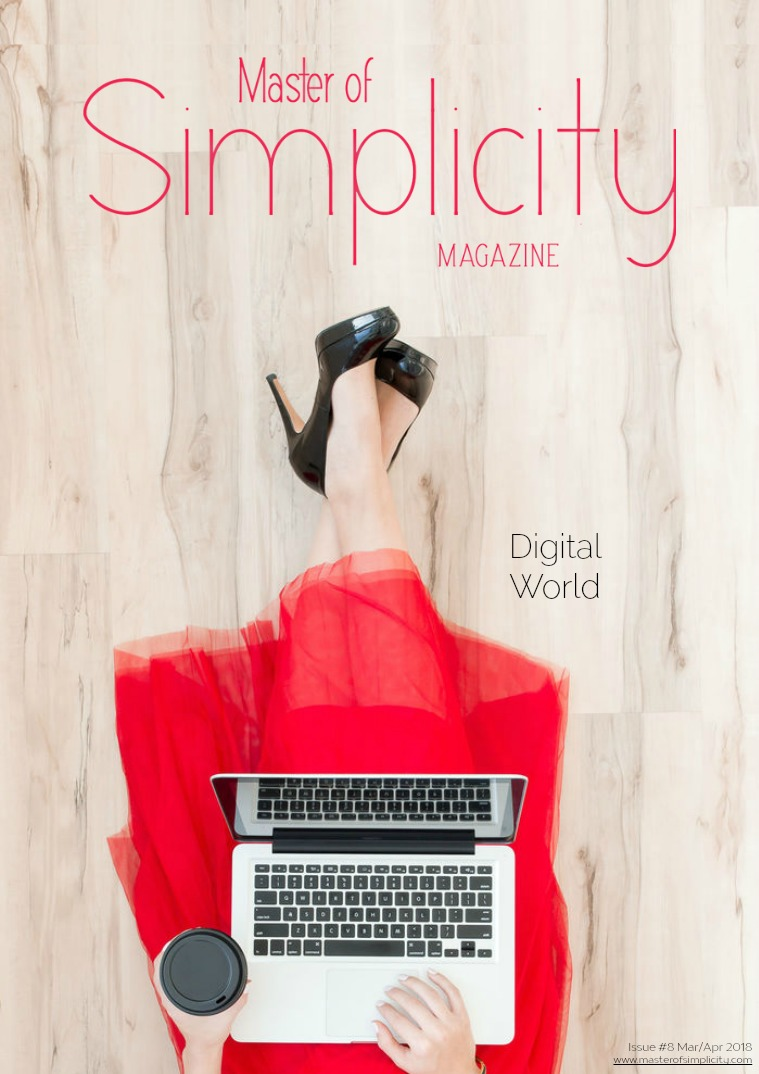 Master of Simplicity Magazine ENGLISH #8 March/April 2018