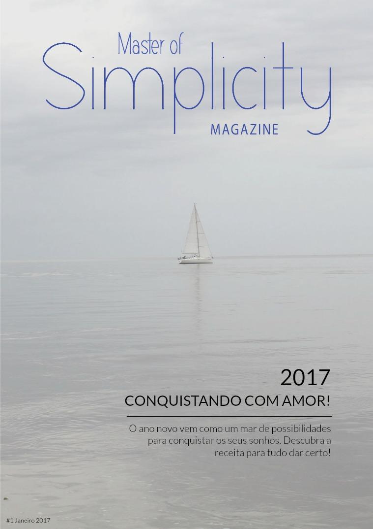 Master of Simplicity Magazine #1 Janeiro/Fevereiro 2017