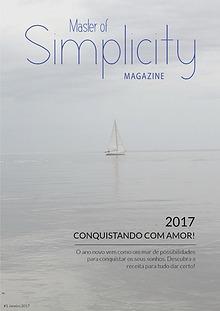Master of Simplicity Magazine Amostra