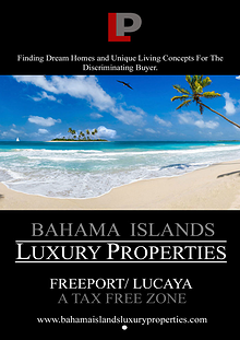 FREEPORT / LUCAYA - INVESTING IN A FREE TRADE  ZONE
