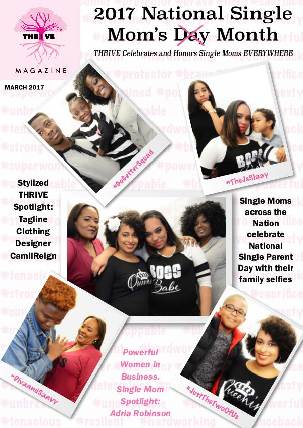 March 2017: National Single Parent Month