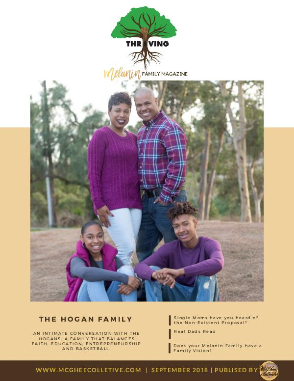 THRIVING Melanin Family Magazine September 2018