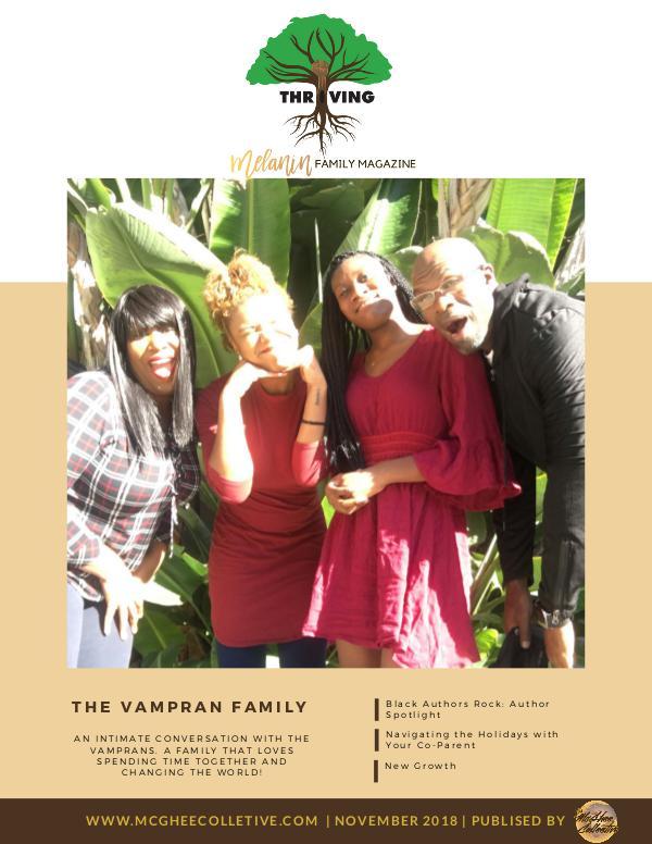 THRIVING Melanin Family Magazine November 2018