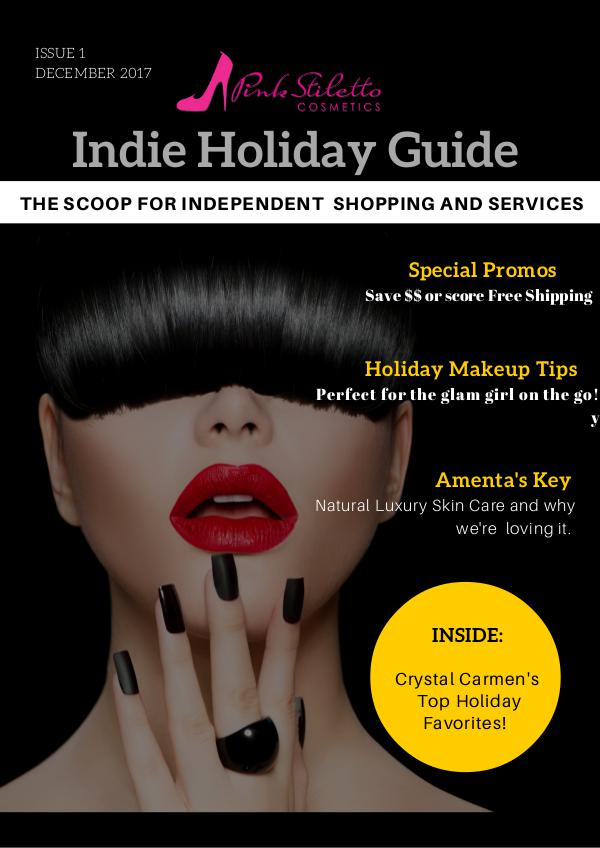 Indie Brand and Services Holiday Gift Catalog 1