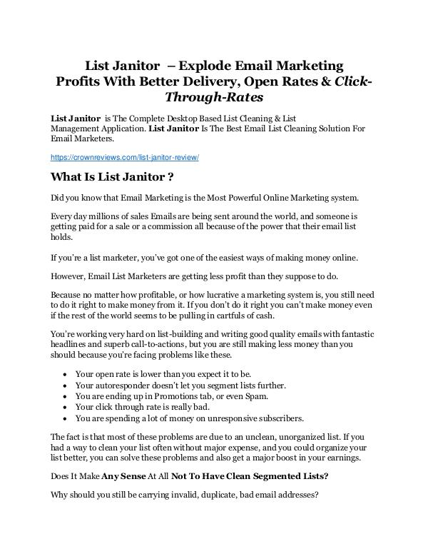 list janitor review and cool 32400 bonuses list janitor review giant 24700 bonus now