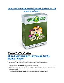 Group Traffic Profits review demo & BIG bonuses pack Group Traffic Profits Review - 80% Discount and $26,800 Bonus