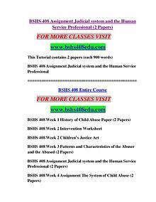 BSHS 408 EDU Future Starts Here/bshs408edu.com