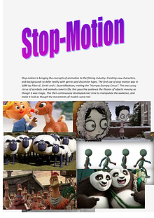 Stop-Motion Development