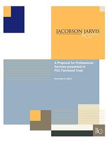 JJCo proposal for PCC Farmland Trust