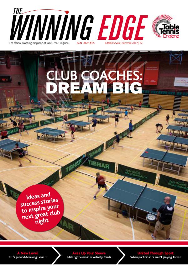 Table Tennis England The Winning Edge Issue 7