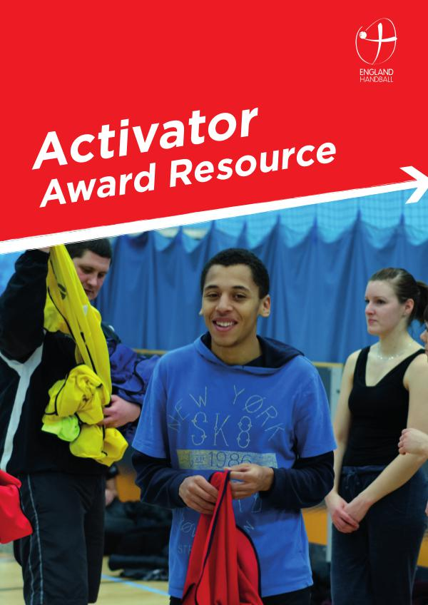 England Handball Activator Award Resource Shobnall Leisure Complex141118
