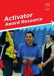 England Handball Activator Award Resource Shobnall Leisure Complex141118