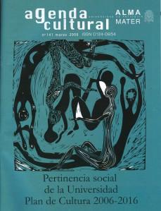 Agenda Cultural UdeA - Año 2008 MARZO