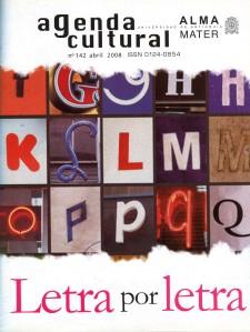 Agenda Cultural UdeA - Año 2008 ABRIL