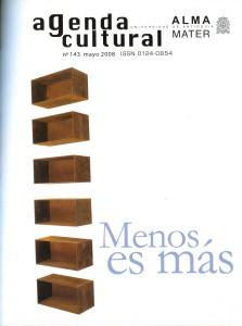 Agenda Cultural UdeA - Año 2008 MAYO