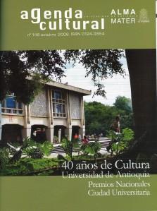 Agenda Cultural UdeA - Año 2008 OCTUBRE