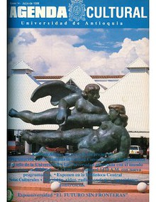 Agenda Cultural UdeA - Año 1996