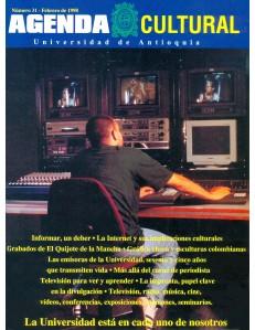 Agenda Cultural UdeA - Año 1998 FEBRERO